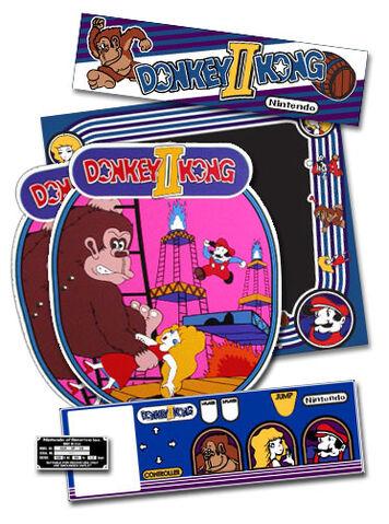 File:Donkey Kong II Jumpman Returns arcade flyer.jpg