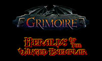 Grimoire Heralds of the Winged Exemplar PC cover