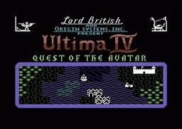 C64 ultima4 title