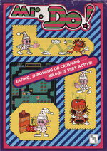 Mr Do arcade flyer