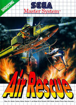 Air Rescue SMS box art