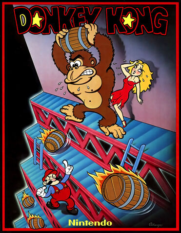 File:Donkey Kong arcade flyer.jpg