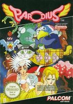 Parodius NES cover