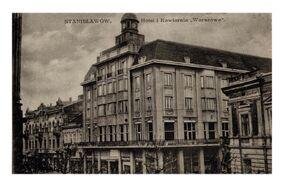 """Будівля колишнього готелю """"Варшава"""""""