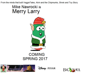 Merry Larry poster