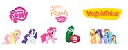 Veggies and Ponies poster