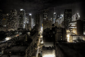New York City at night HDR edit1