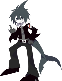 Samekichi character art