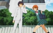 Inami punched Kirio