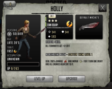 Holly - Tier 2, Level 1