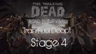 The Walking Dead Road to Survival Train Fuel Depot Stage 4