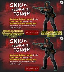 Omid's Questionable Gender