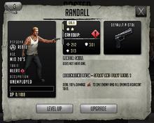 Randall - Tier 1, Level 1