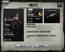 Angela - Tier 1, Level 1