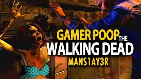 Gamer Poop - The Walking Dead ( 1)