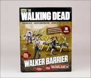 The Walking Dead TV Walker Barrier Building Set