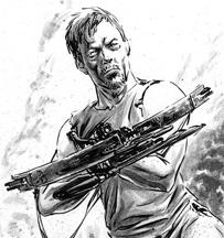 File:Daryl in Comics Fan Art.png