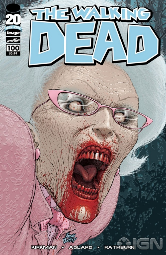 Walking Dead 100 Variant F
