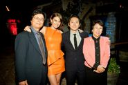 Lauren.cohan.steven.yeun's.aunt.and.uncle