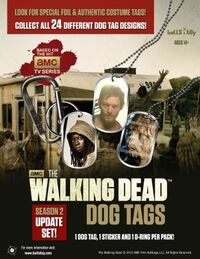 Walking Dead Tog Tags Series 2