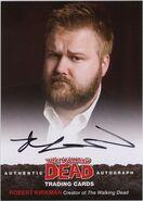 01 Robert Kirkman Autograph Card