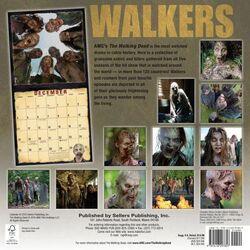 Walkers of AMC's The Walking Dead Wall Calendar 2