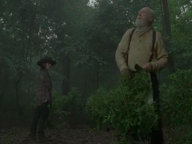 File:Carl to Hershel outside herbal.jpg