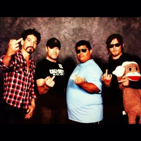 File:Shane, Merle, Me and Daryl.jpeg