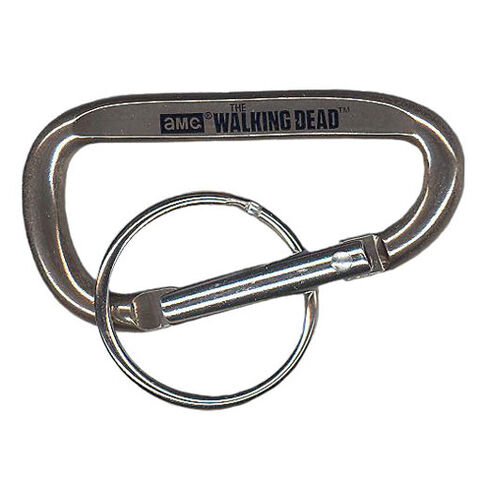 File:The Walking Dead - Carabiner Clip (Season 2) - SILVER (2.5 inch).jpg