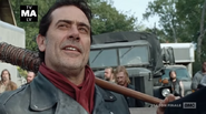 TFDOTROYL Negan and the rest of the Saviors