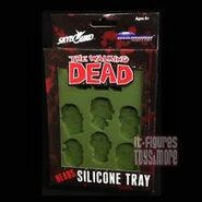 Zombie Heads Silicone Tray 2
