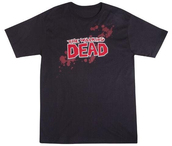 """File:THE WALKING DEAD """"BLOOD LOGO"""" T-SHIRT.jpg"""