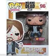 Biker Daryl Blood Splatter Edition-Funko-Pop Vinyl-Funko-trampt-127037m