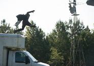 AMC 610 Jesus Falls Off Truck