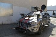 2013 Hyundai Santa Fe Zombie Survival Machine 7