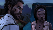 ITD Michonne Pete Skeptical