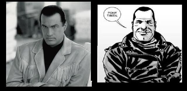 File:Steven Seagal = Negan.jpg
