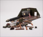 The Walking Dead TV The Governor's Room Building Set 6