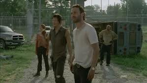 File:Daryl, Rick Carol and T get Maggie and Glenn.jpg