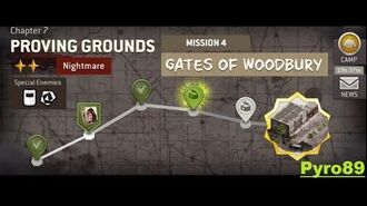 The Walking Dead NML Chapter 7 - Mission 4 (Nightmare mode)