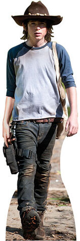 File:Carl Grimes - Walking Dead - Lifesize Cardboard Cutout.jpg