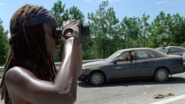 Michonne Sees Explosives 709