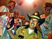 Halloween Rick with Walkers