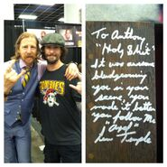 Anthony Rinaldo and Lew Temple