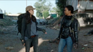 Rosita Espinosa Rude to Sasha Williams 7x14 The Other Side