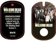 The Walking Dead - Dog Tag (Season 2) - Walker C8 (AUTHENTIC WORN COSTUME PIECE)
