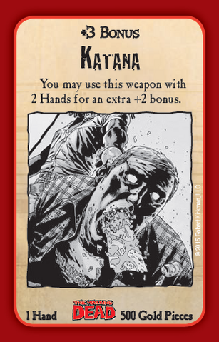 File:Munchkin Zombies- The Walking Dead Katana card.png.png