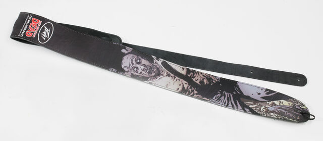 File:The Walking Dead Cliff Zombie Leather Guitar Strap.jpg