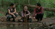 Tara Glenn And Rosita At The River