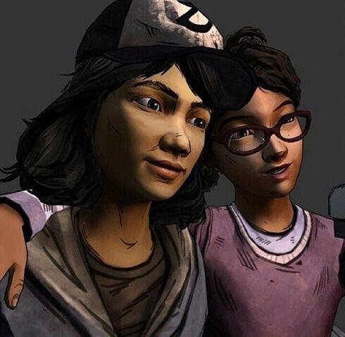 File:Clem and Sarah BFFs.jpg
